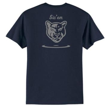 Wrestling t shirt Panther & sic 'em