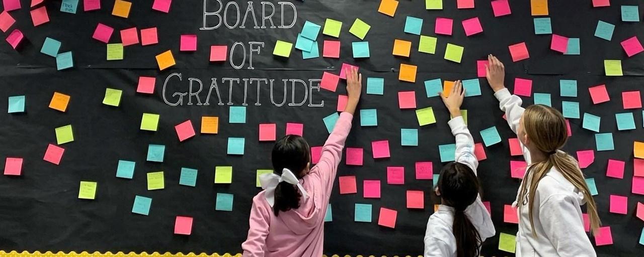 Board of grattitude.